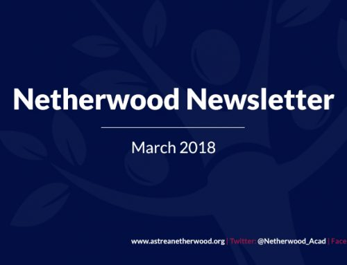 Welcome to the new Netherwood newsletter.
