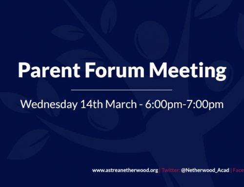 Parent Forum Meeting