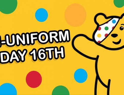Non-Uniform Day Friday 16th November