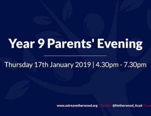 Year 9 Parents' Evening
