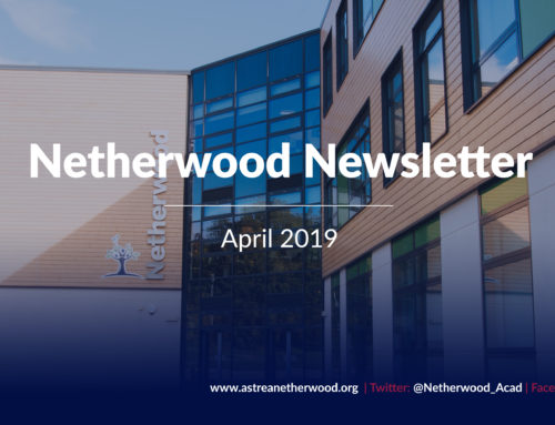 Netherwood Newsletter – April 2019