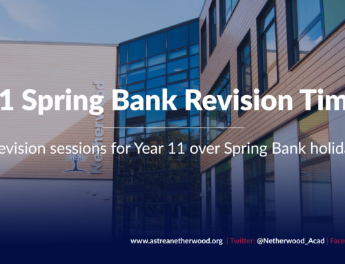 Year 11 Spring Bank Revision Timetable