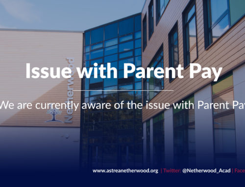Issue with Parent Pay