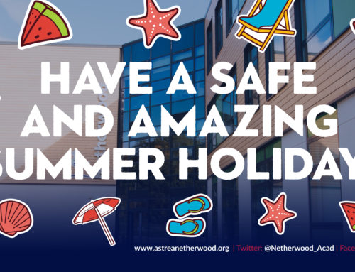Have a safe and amazing summer holiday!