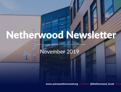 Netherwood Newsletter – November 2019