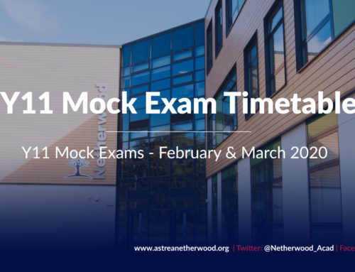 Y11 Feb/March Mock Exam Timetable
