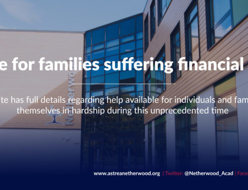 Guidance for families suffering financial hardship