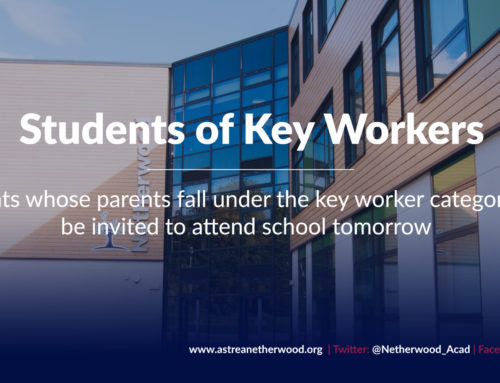 Students of Key Workers