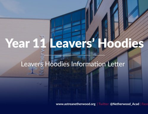 Year 11 Leavers' Hoodies