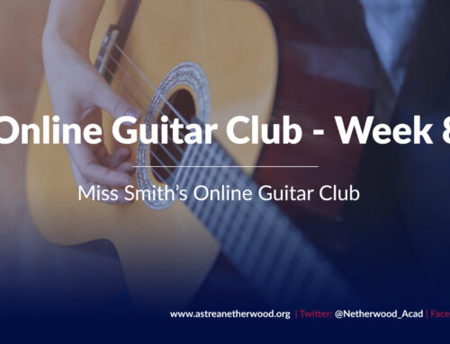 Online Guitar Club – Week 8