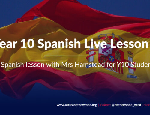 Year 10 Spanish Live Lesson 2