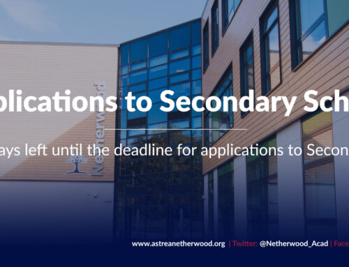 Two school days left until the deadline for applications to Secondary Schools