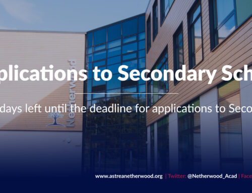 Three school days left until the deadline for applications to Secondary Schools