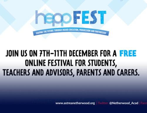 Bookings for HeppFest – the FREE online higher education festival for South Yorkshire – are now open!