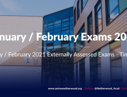 January / February 2021 Externally Assessed Exam Timetable