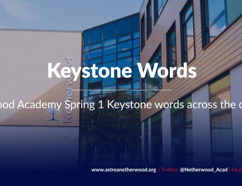 Keystone words across the curriculum for Spring 1