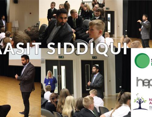 Baasit Siddiqui visits Netherwood